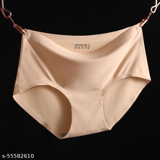 Free size sexy nylon granny panties comfortable woman underwear
