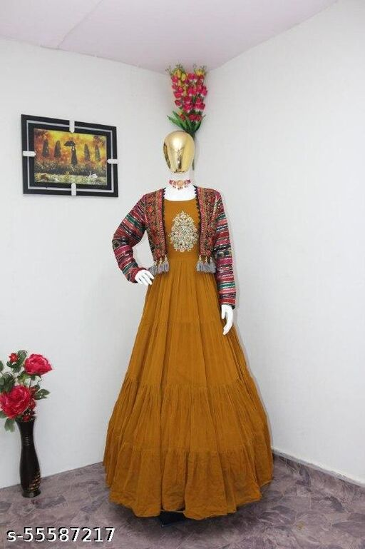 GOWN WITH SHRUG