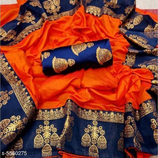 Beautiful Paper Silk Women's Sarees
