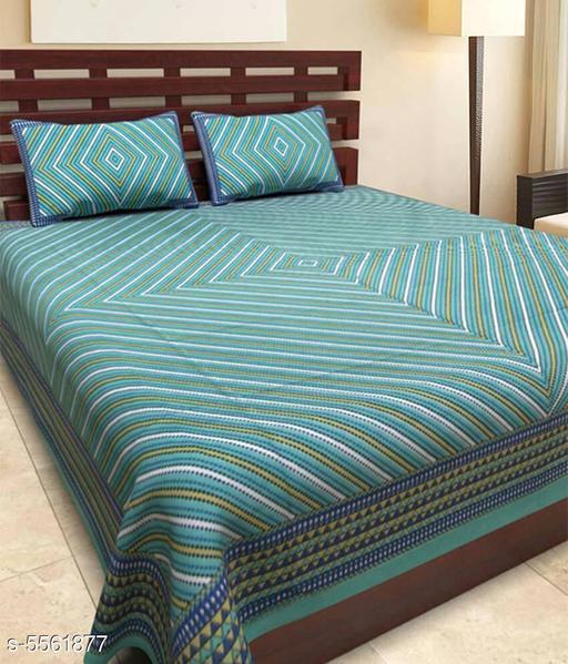 Trendy Cotton 100X90 Double Bedsheet