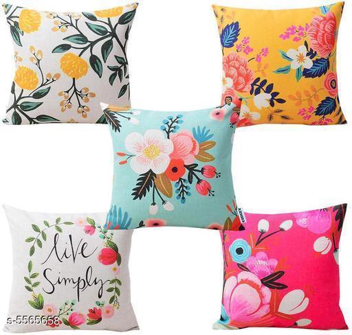 Stylish Heavy Jute Cushion Covers