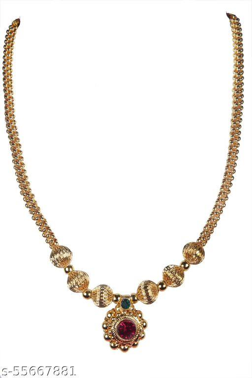 Ayron gold plated saj ghat thushi Necklaces