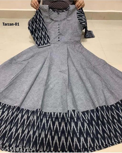 trazen grey color Dresses