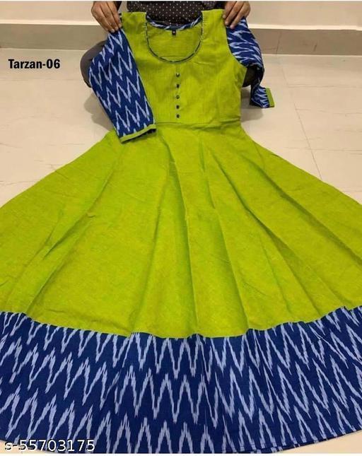 trazen parrot  color Dresses