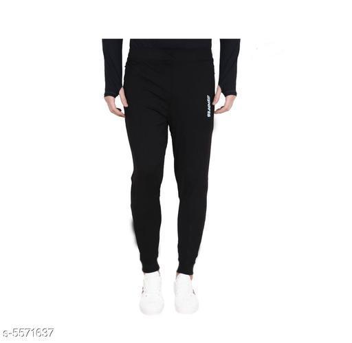 Cotton Lycra Sports Track Pants
