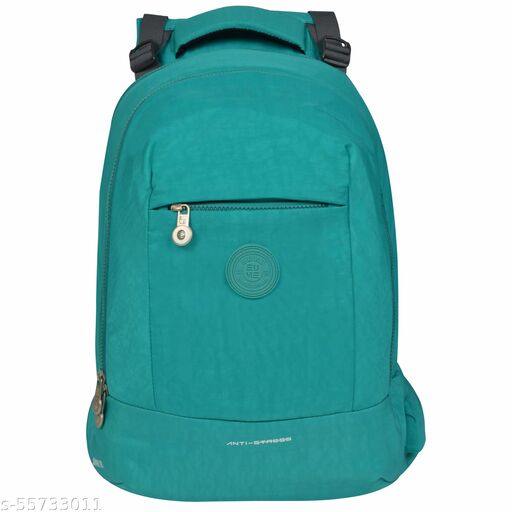 EUME Sapphire Stylish Laptop Backpack with Built-in Massager for Men & Women | Anti-Theft | (Green)