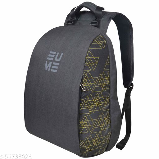 EUME GenX Massager Backpack for 15.6 Inch Laptop (Yellow, 26L)