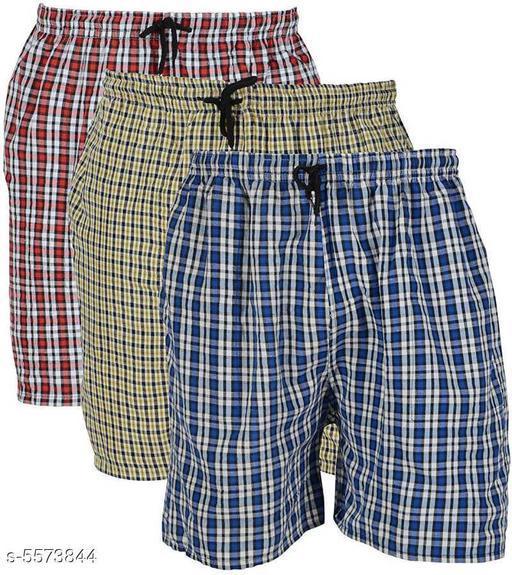 Trendy Cotton Men's Boxers Combo