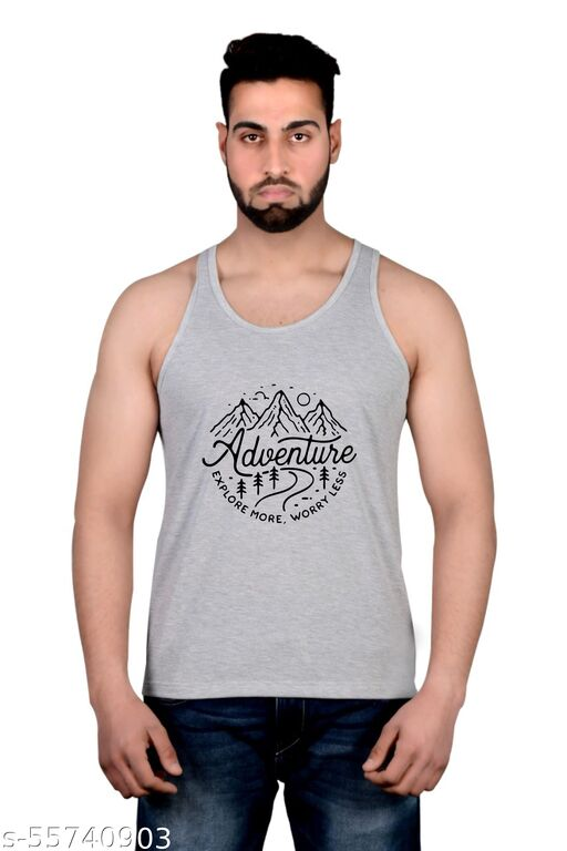 Printed Men's Vest