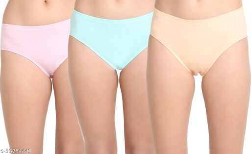 LEADING LADY  panty Women Hipster Multicolor Panty  (Pack of 3)