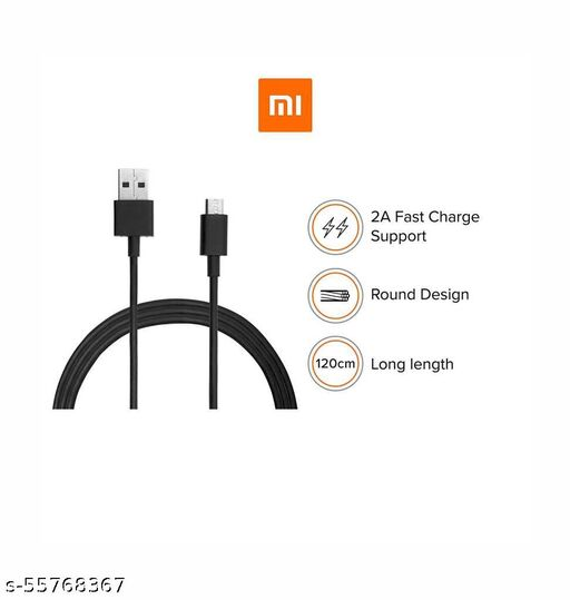 10W orignal datacable for all MI models with fast charging