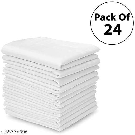 Mens PREMIUM Cotton Hankercheifs combo of 24
