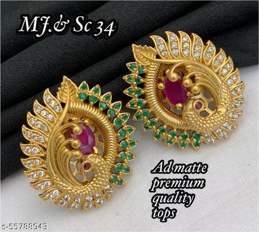Twinkling Bejeweled Women Earring