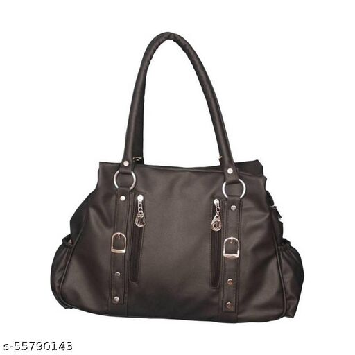 Black color Trendy and Stylish Handbag for Girls for Teachers / College / Fund / Study / Office use