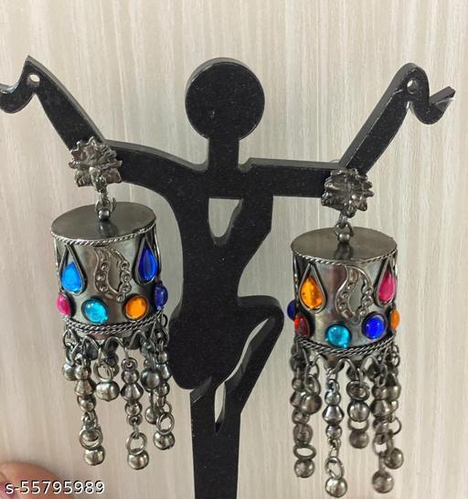 Beautiful Oxidised earring for girls