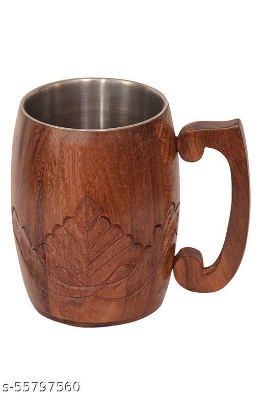 INTENSE ART Handmade Wooden Coffee Mug