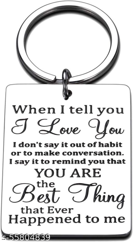 I Love You Gifts for Him Her Keychain for Boyfriend Wife from Husband Couples Keychains for Girlfriend Christmas Present Valentines Day Jewelry for Lover Wedding Anniversary for Fiance Fiancee