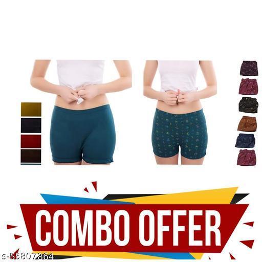 Girls Women bloomer cambo pack Briefs