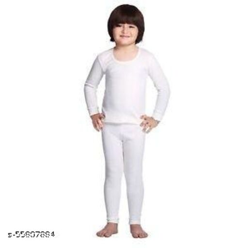 SEE FIT nsider Kids Thermal/Winter Wear/Cotts/Warmer for Girls and Boys, Set of 1 Upper and 1 Lower