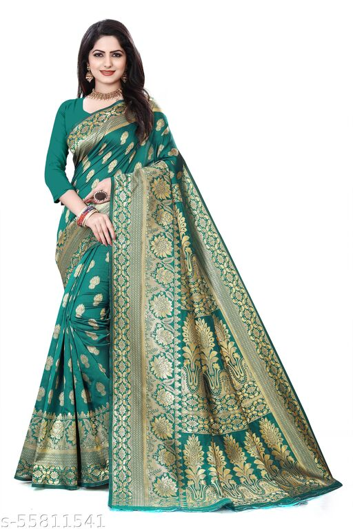 Lichi Banarsi Silk Saree