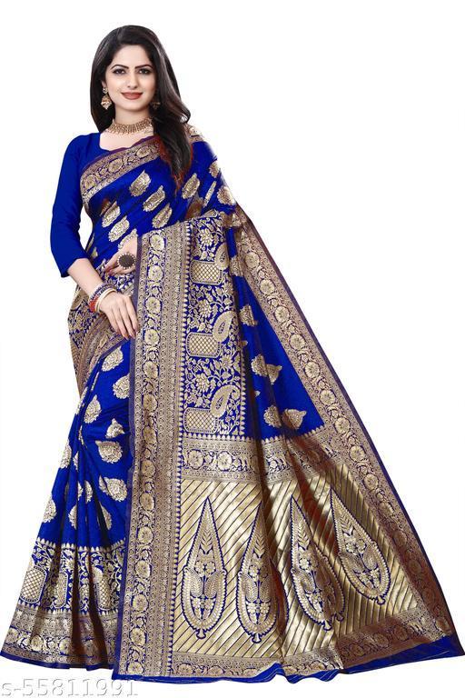 lichi soft silk saree latest design