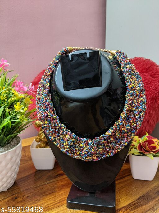Beautiful Multicolour Trending Necklace