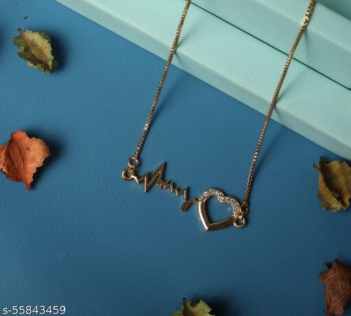 new fancy rose gold Necklaces & Chains in