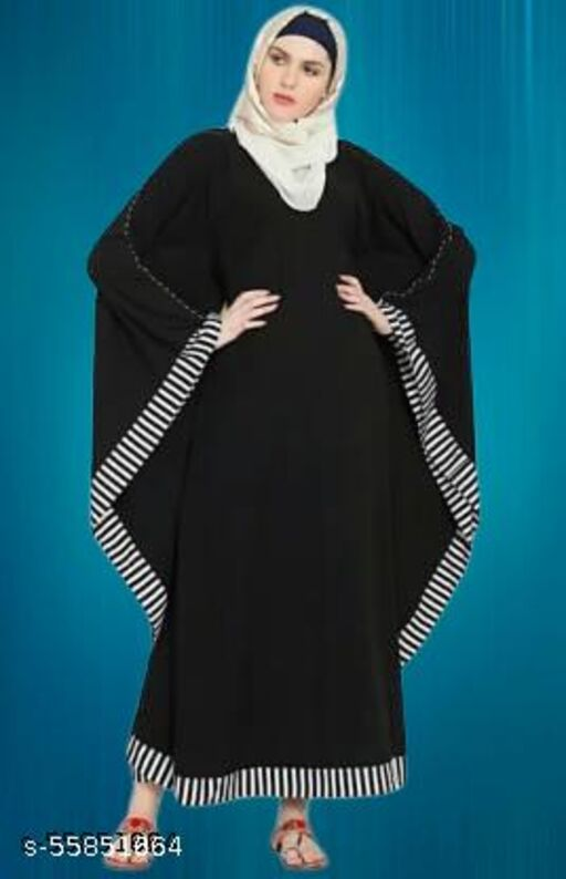 RC Women Ethinic Wear Abaya ( Pack of 1 )