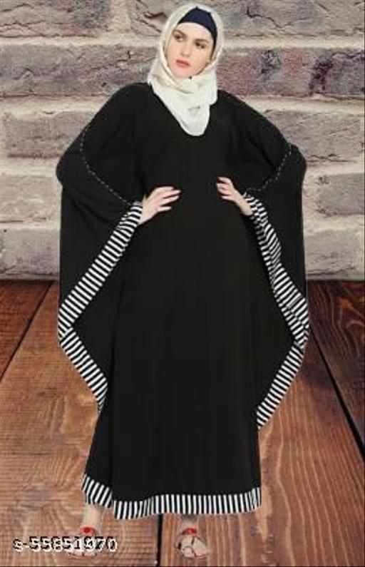 RC Women Ethinic Wear Abaya ( Pack of 1 )-01