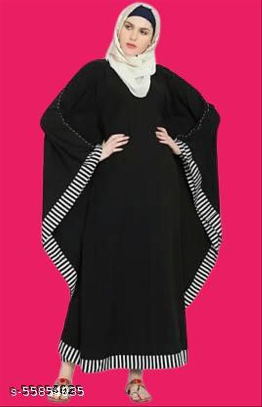 RC Women Ethinic Wear Abaya ( Pack of 1 )-02