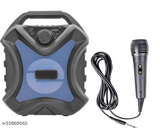 New Arrival Portable Karaoke Bluetooth Party Speaker with Mic/USB/AUX Function