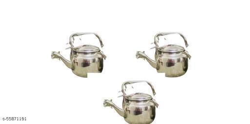 Steel Tea Pot / Tea
