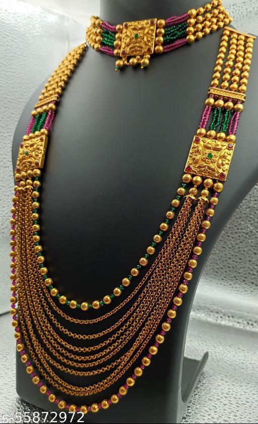 Prince Woman long Necklaces