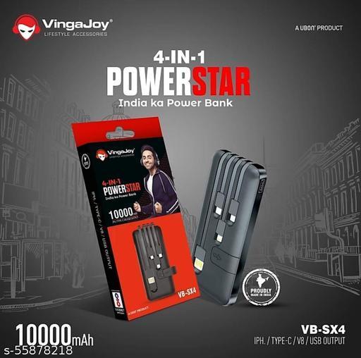 VingaJoy 4-in-1 Powerstar Power Bank
