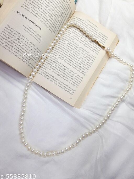 Karki Fusion Simple Pearl Necklace For Women