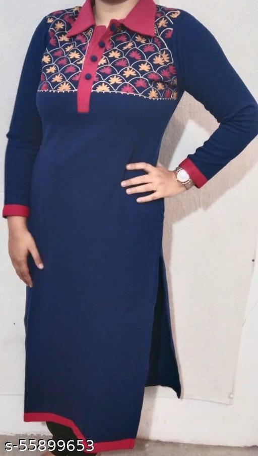 woolen kurti