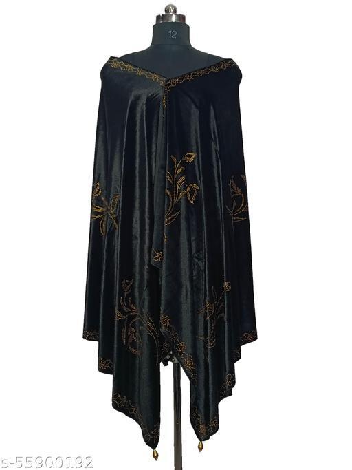 velvet shawl