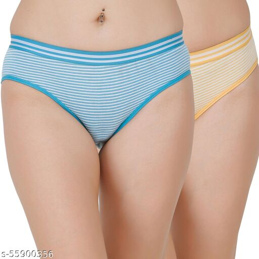 Docare Blue,Yellow Hipster Panty