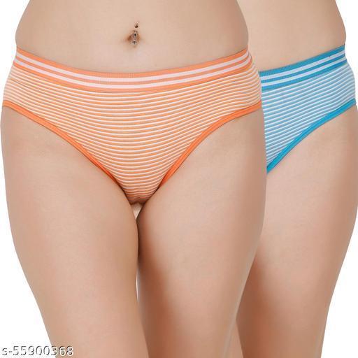 Docare Orange,Blue Hipster Panty