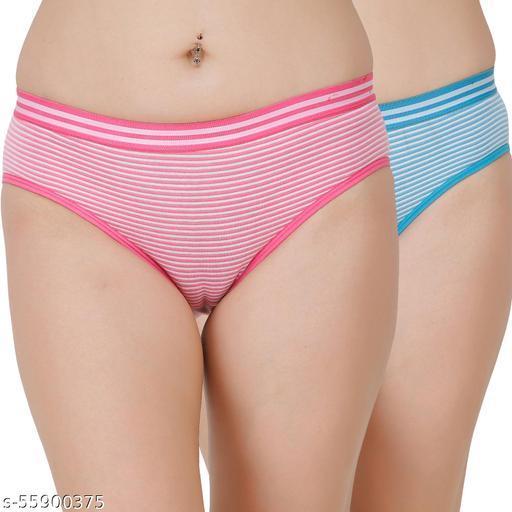 Docare Pink,Blue Hipster Panty