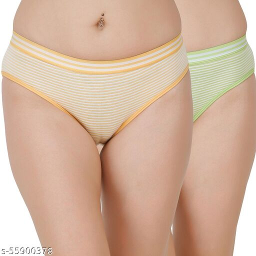 Docare Yellow,Green Hipster Panty