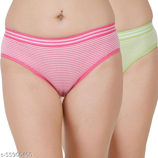 Docare Pink,Green Hipster Panty
