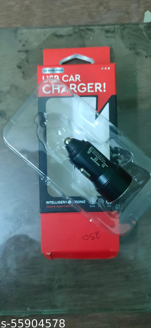 USB  CAR CHARGER (FAST CHARGER SUPPORT)