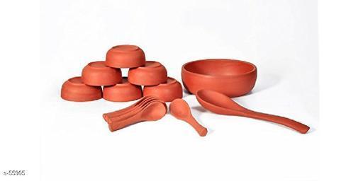 Clay Pudding/ Ice Cream Set