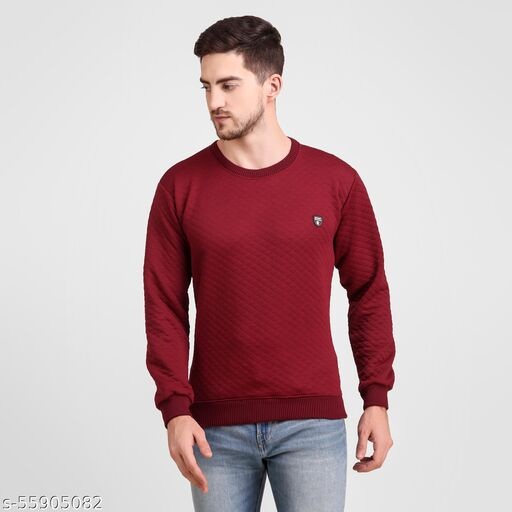 Urbane Elegant Men Sweaters