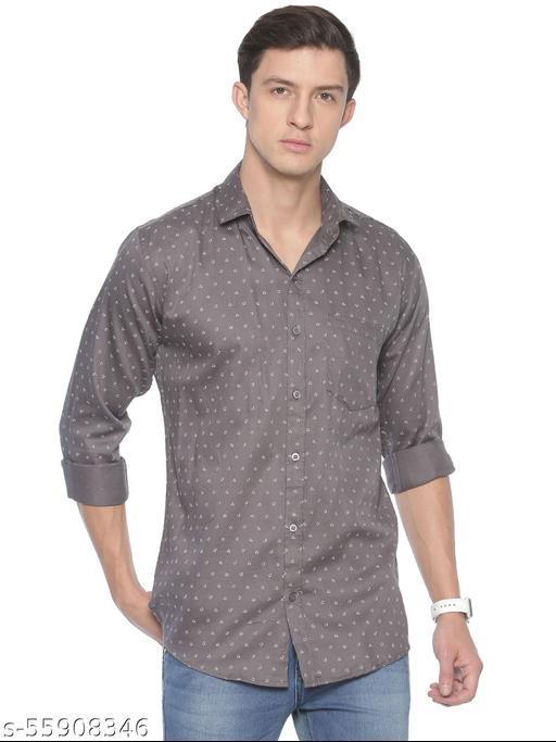 Men's Regular Fit Casual Printed Shirts