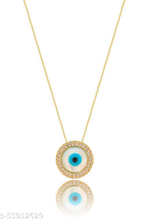 Evil Eye Necklace Studded Evil Eye Necklace