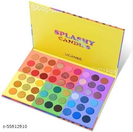 Beauty Glazed 54 Colors Splashy Candies Eyeshadow Palette