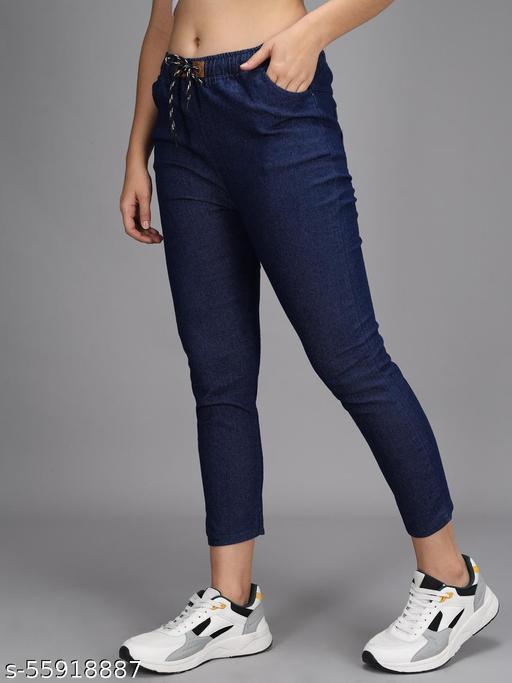 loe crafts dark blue jeans