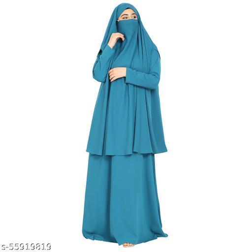 TWO PIECE WOMENS    abayas SET